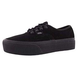 Vans Black Creeper Platform Sneakers